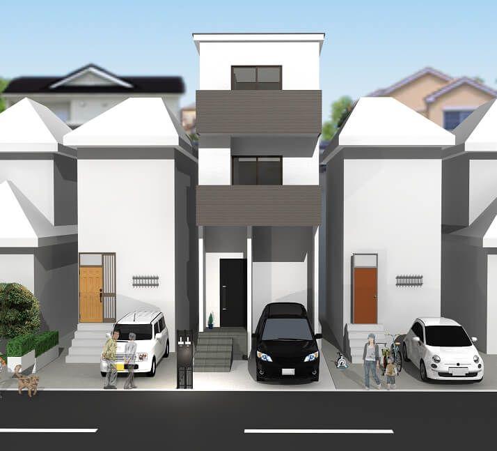 向島津田町 新築 【2021年9月完成予定】