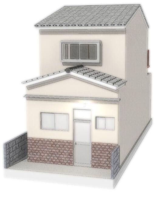 葭島矢倉町 中古テラスハウス